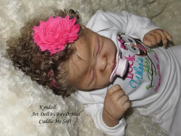 Reborn Baby Girl for sale - Quinlynn by Laura Lee Eagles