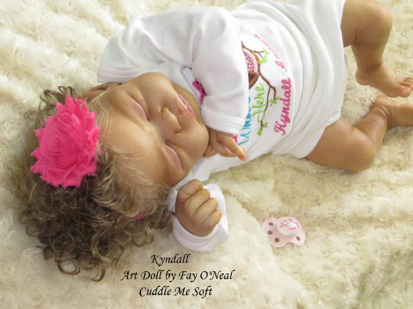 Biracial Reborn Baby for sale - Quinlynn by Laura Lee Eagles