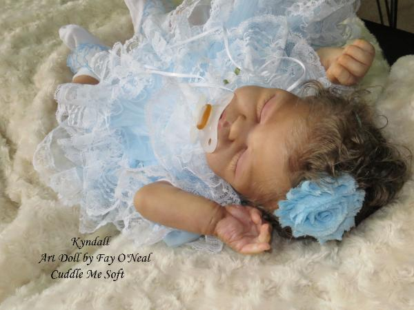 Reborn Baby for sale - Quinlynn by Laura Lee Eagles