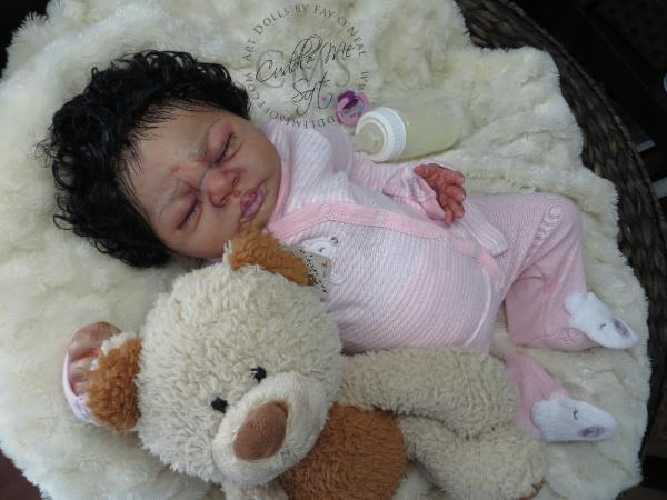 Reborn Baby Girl Haily by Wendy Dickison