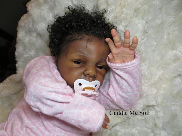 Lifelike Ethnic Aa Reborn Baby Girl For Sale Annalise