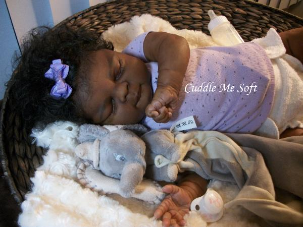 Realistic Ethnic Reborn Baby Girl For Sale, OOAK Baby Reborn doll