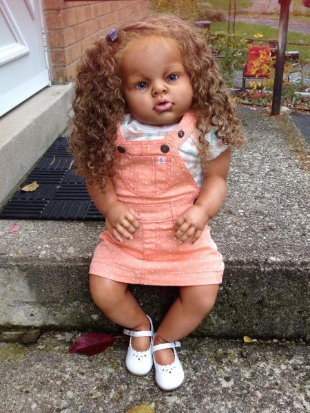Aleigha Biracial Reborn Toddler For Sale Arianna By Reva