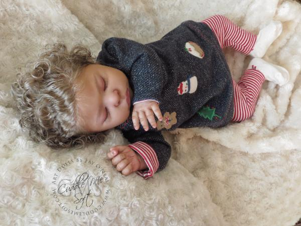 Biracial Reborn Baby Girl for sale -  Lee Lee by Laura Tuzio Ross