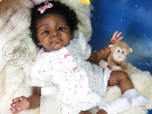 Ethnic Reborn Baby Girl For Sale Asa Hope