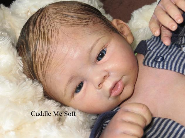 Realistic Newborn Reborn Baby Boy For Sale, OOAK Baby Reborn doll