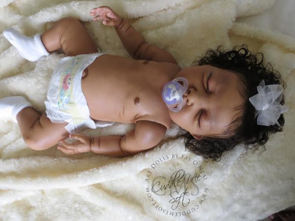 Realistic Biracial Reborn Baby Girl for Sale