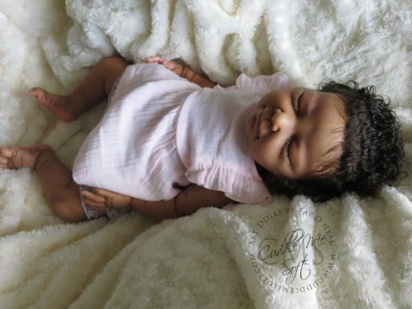 Biracial Reborn Art Doll for Sale