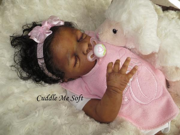 Realistic Newborn Reborn Baby Girl For Sale, OOAK Baby Reborn doll