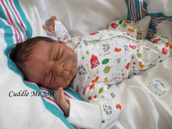 Lifelike Reborn Baby Boy for sale by Fay O'Neal
