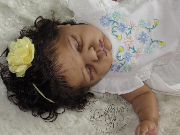 AA/ Biracial reborn doll for sale