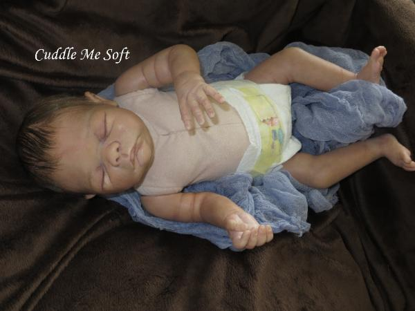 Lifelike Reborn Baby Boy For Sale - Korey by Helen Connors