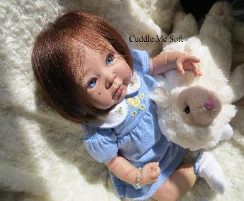 Realistic Reborn Baby Girl For Sale, OOAK Baby Reborn doll