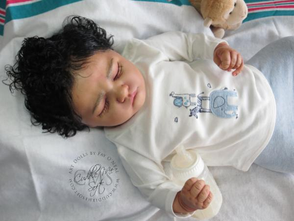 Reborn baby boy for sale by Fay O'Neal