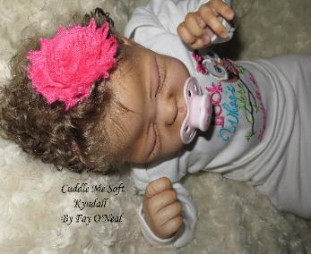 Biracial Reborn baby girl - Quinlynn by Laura Lee Eagles