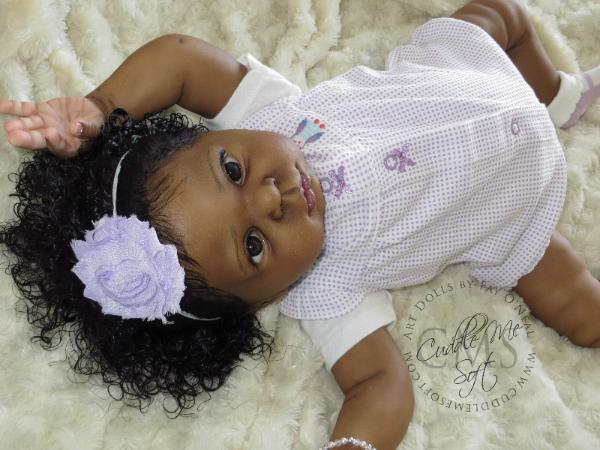 Aa Ethnic Reborn Baby Girl For Sale Willow Flower By