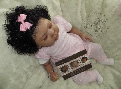 Lifelike Biracial Reborn Baby Girl For Sale