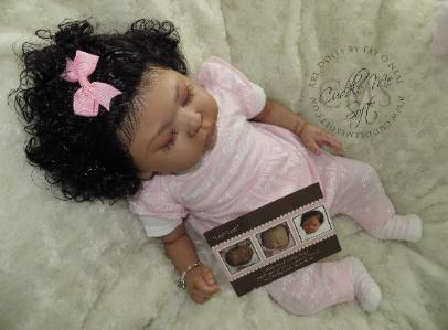 Biracial Reborn Baby Girl For Sale