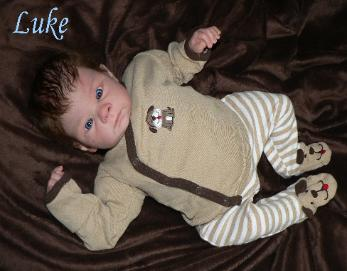 Realistic reborn baby boy for sale