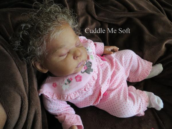 Lifelike reborn baby for adoption