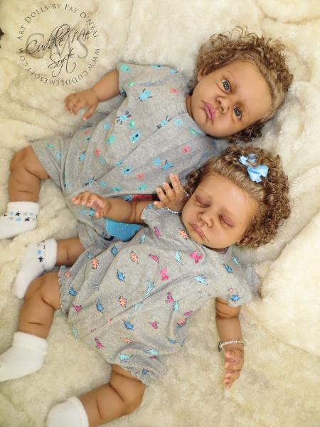 Biracial Reborn Twins by Fay O'Neal