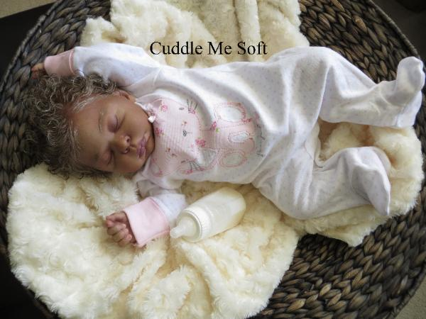 OOAK Realistic Ethnic Reborn Baby Girl for Sale