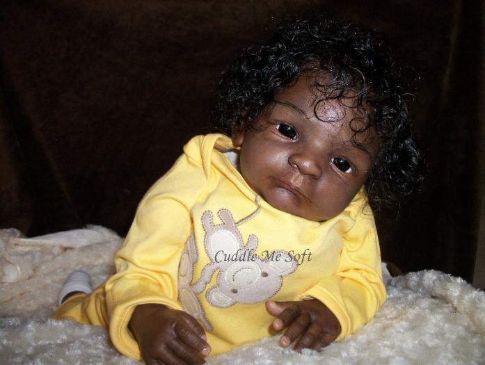 AA / Ethnic Reborn Baby Boy  for sale - Noah Gudrun Legler Kit