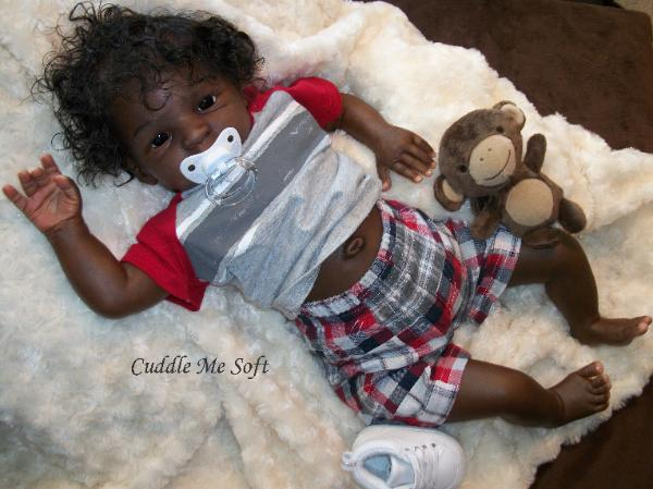 Lifelike Ethnic Reborn Baby Boy for sale