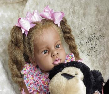 Biracial Reborn Toddler for sale