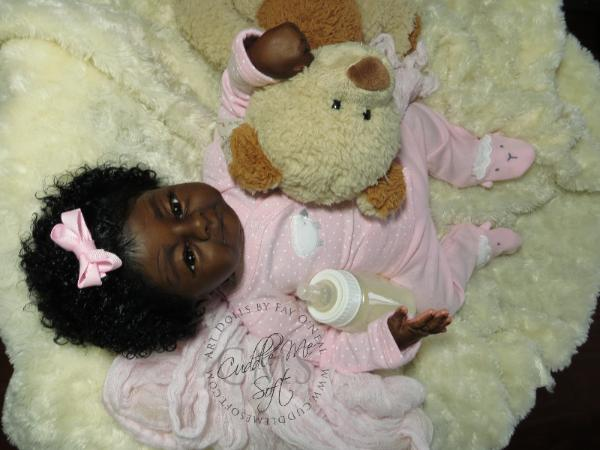 Ethnic Reborn Baby Girl for Sale