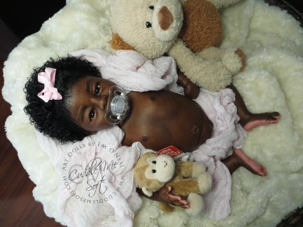 Adorable Ethnic Reborn Baby Girl For Sale
