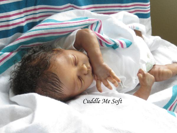 Lifelike Biracial Reborn Baby Girl for adoption