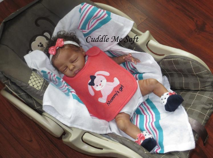 Biracial Reborn Baby Girl for sale - Maisie by Marita Winters