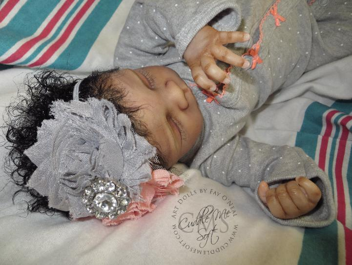 Realistic AA / Ethnic Reborn Baby For Sale