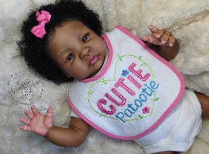 Adorable Reborn baby girl for sale by Fay O'Neal
