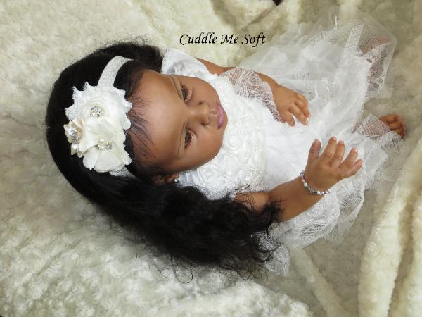 AA  / Ethnic Reborn Toddler for sale by Fay O'Neal