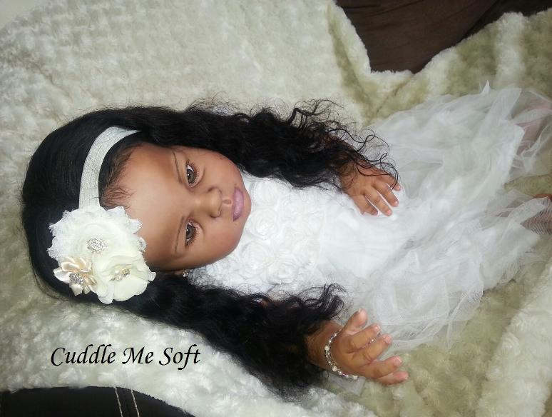 Ethnic / AA Reborn Toddler for sale by Fay O'Neal