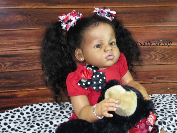 AA / Ethnic Reborn Toddler For Sale