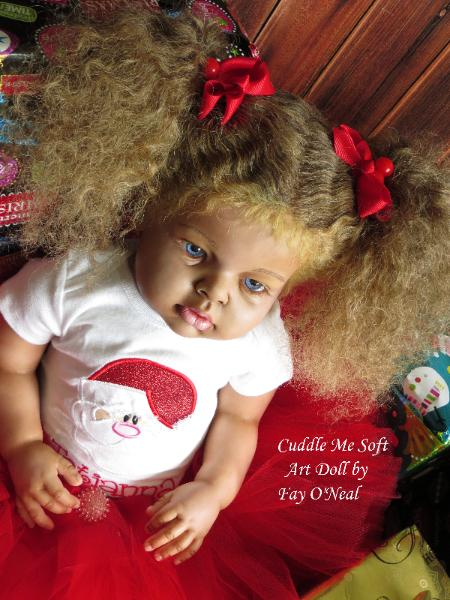 Adorable Reborn Toddler by Fay O'Neal