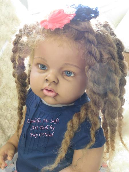 Reborn Toddler  for adoption by Fay O'Neal