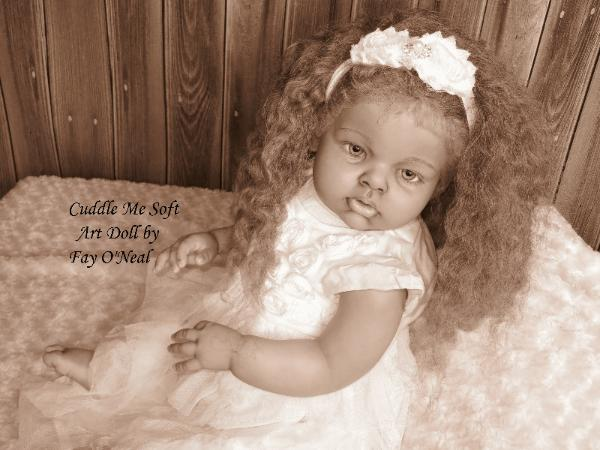 Adorable Biracial Reborn Toddler for sale