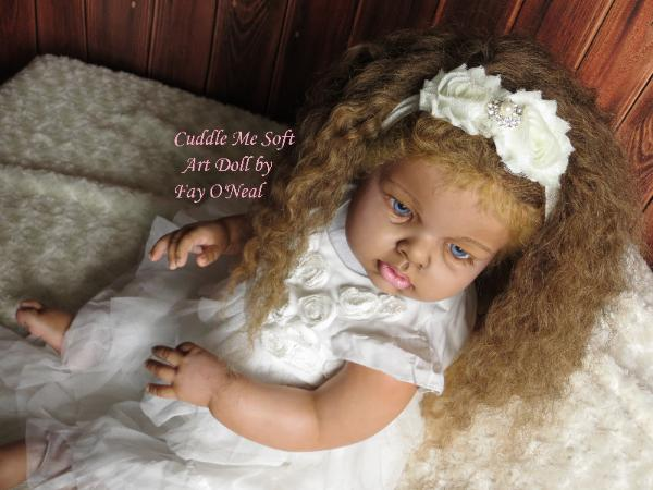 Ethnic reborn baby for sale by Fay O'Neal